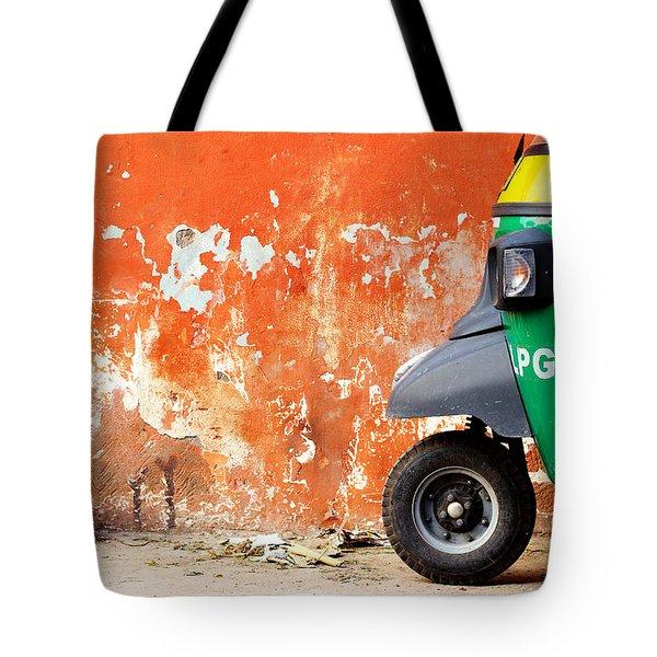 Indian Tuk Tuk Tote Bag