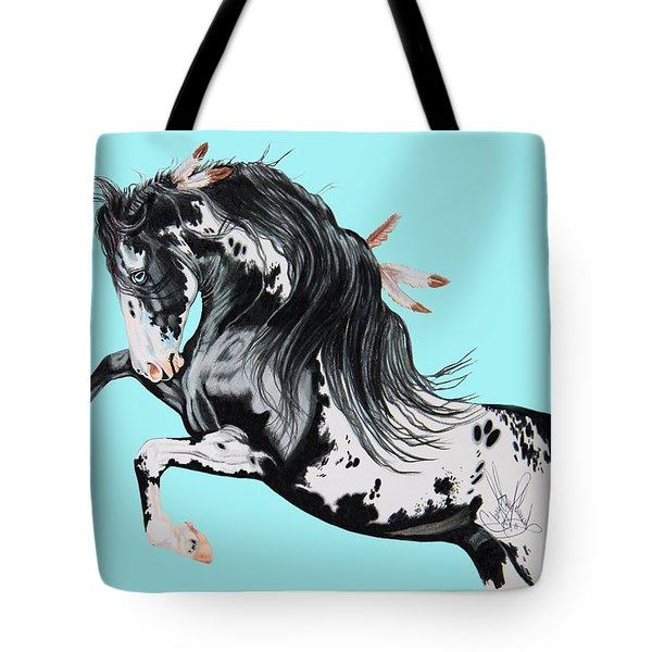 Indian War Pony - Mustang Tote Bag
