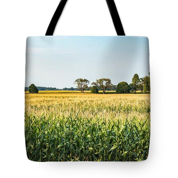 Indiana Corn Field Tote Bag