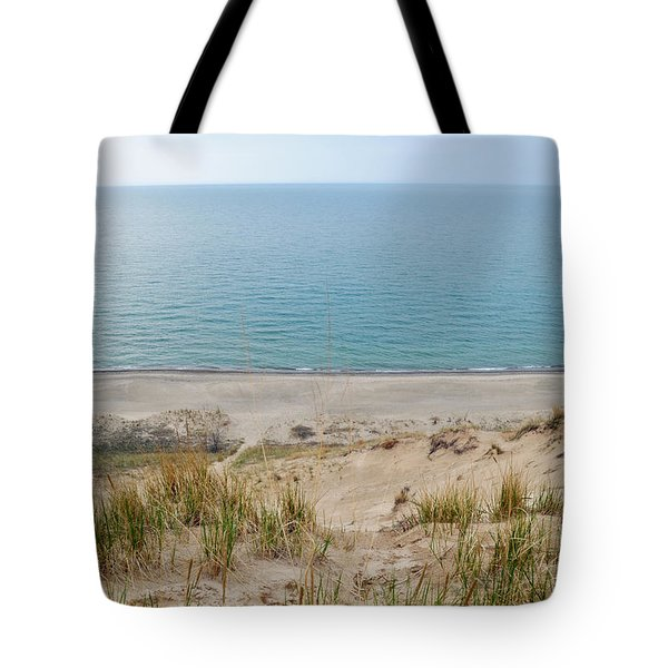 Tote Bag featuring the photograph Indiana Dunes National Lakeshore Evening by Kyle Hanson