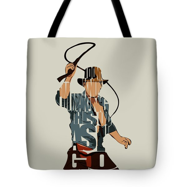 Indiana Jones - Harrison Ford Tote Bag