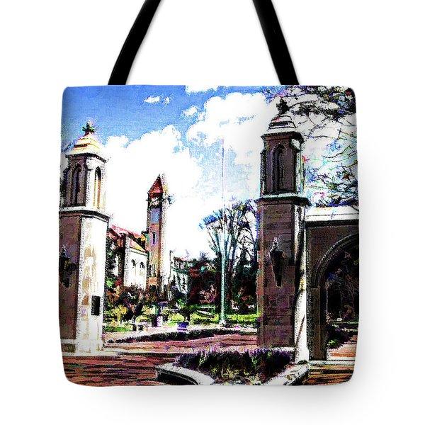 Indiana University Gates Tote Bag