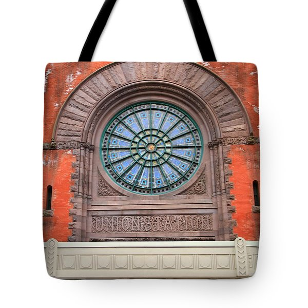 Indianapolis Union Station Building Tote Bag