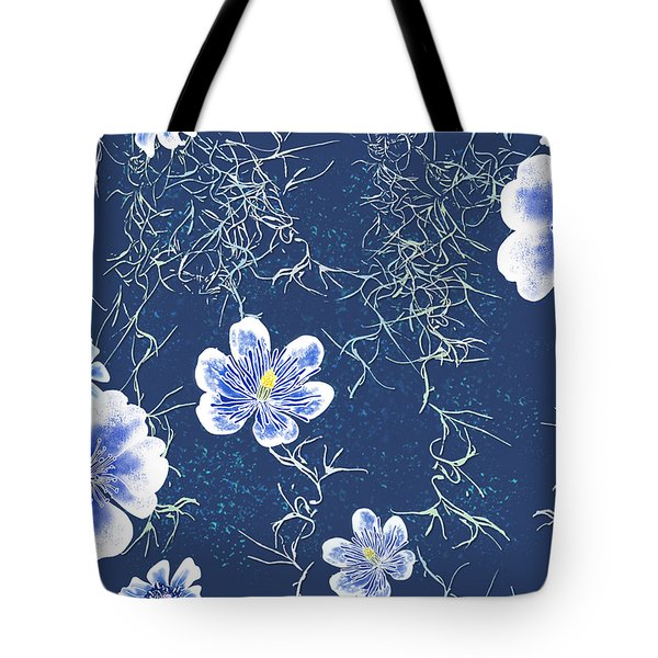 Indigo Batik - Tillandsia Tote Bag