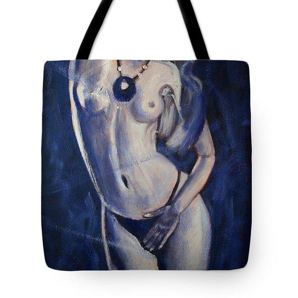 Indigo Girl Tote Bag