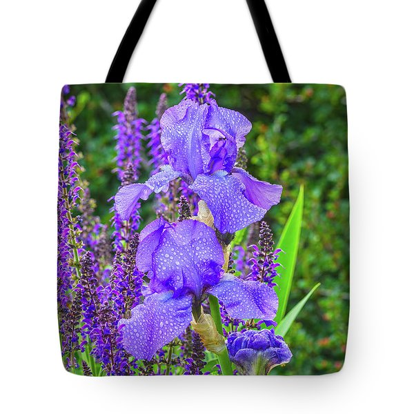 Indigo In Nature  Tote Bag by Bijan Pirnia