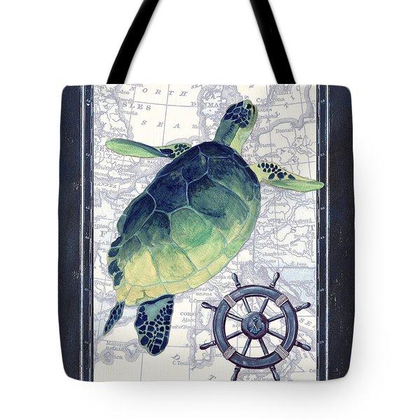 Indigo Maritime 1 Tote Bag