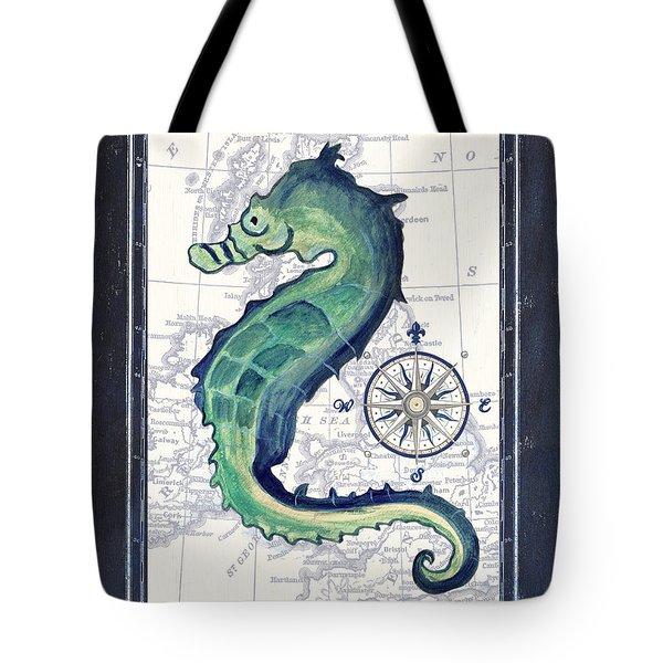 Indigo Maritime 2 Tote Bag