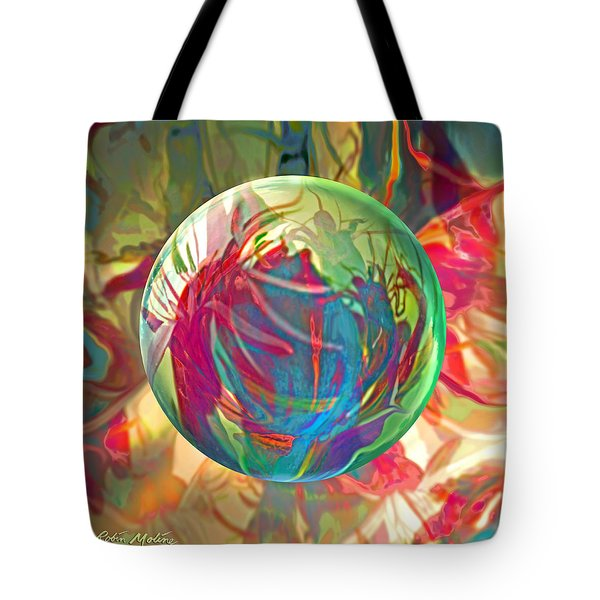 Tote Bag featuring the painting Indigofera Tinctorbia by Robin Moline