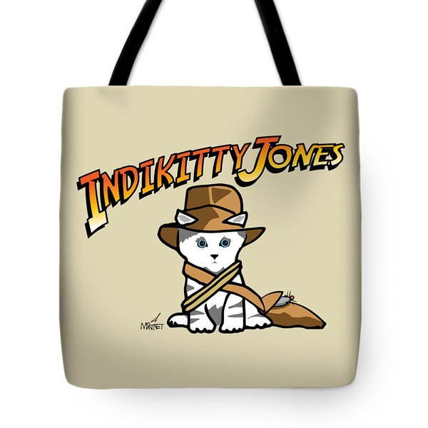 Indikitty Jones Tote Bag