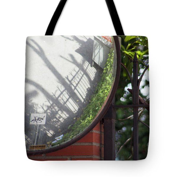 Tote Bag featuring the photograph Indirect Nature by Ana Mireles