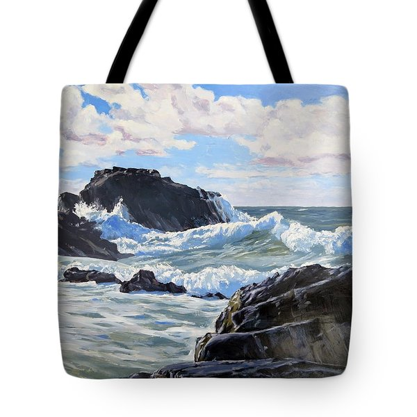 Indomitable Rock Tote Bag