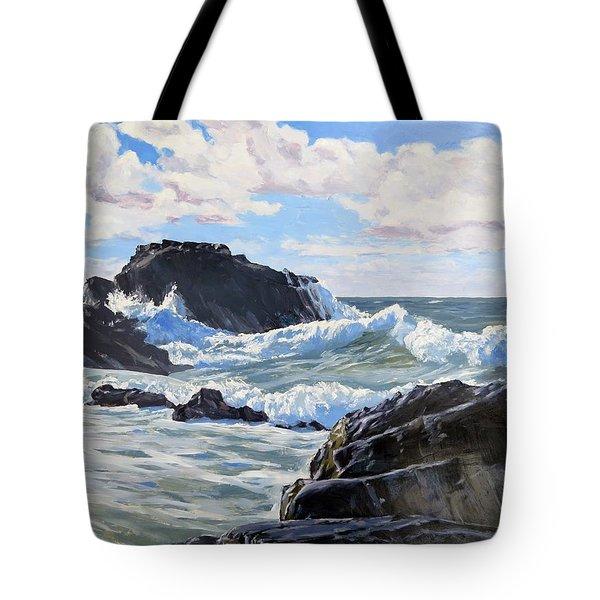 Indomitable Rock Tote Bag