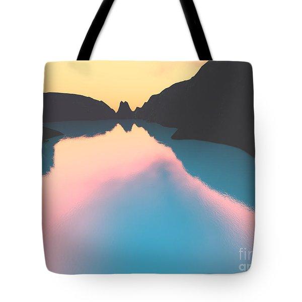 Indonesian Crater Lakes II Tote Bag by Gaspar Avila