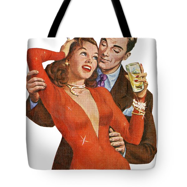 Tote Bag featuring the digital art Indulge Me by Kim Kent