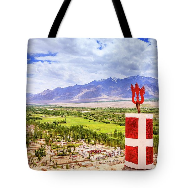 Tote Bag featuring the photograph Indus Valley by Alexey Stiop