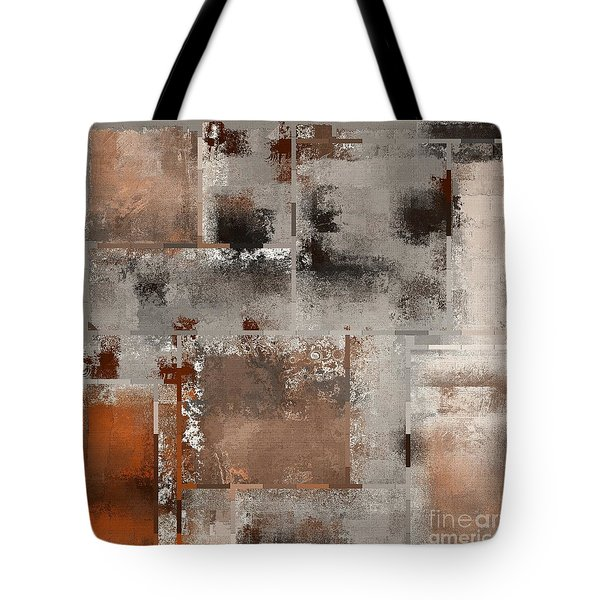 Industrial Abstract - 01t02 Tote Bag