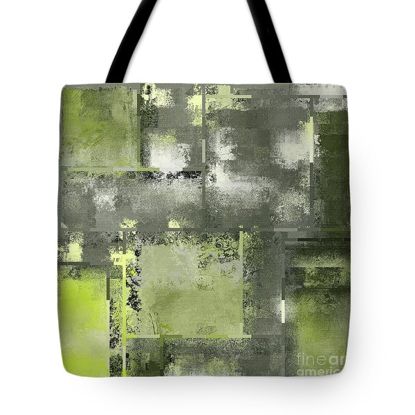 Industrial Abstract - 11t Tote Bag