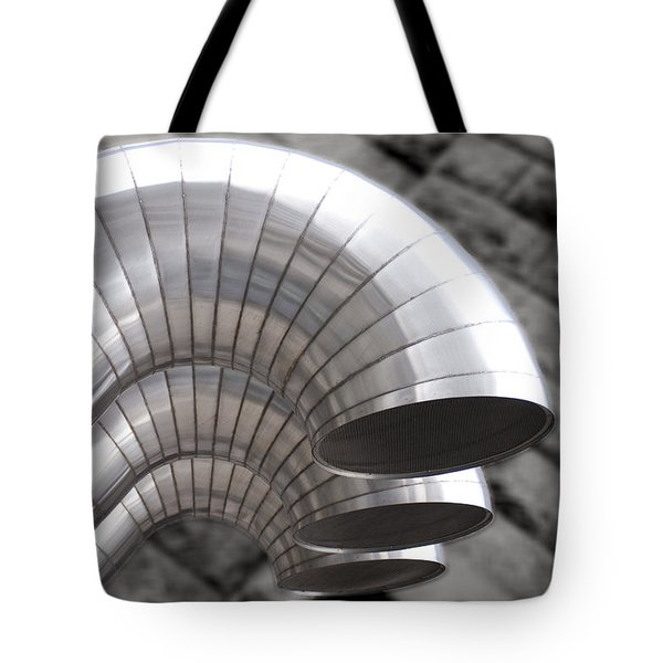 Industrial Air Ducts Tote Bag