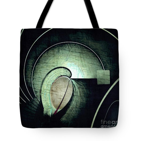 Industrial Arch Grey Tote Bag