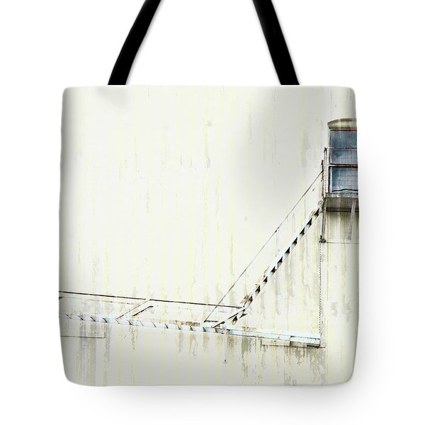 Industrial Art Fire Escape Tote Bag