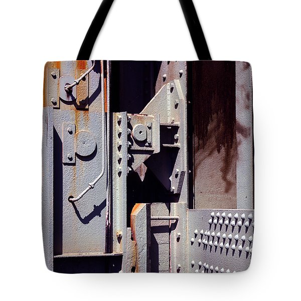 Industrial Background Tote Bag