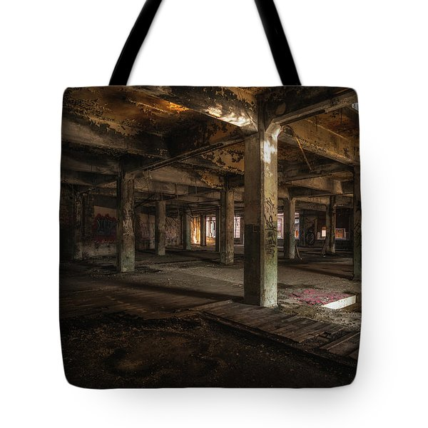 Industrial Catacombs Tote Bag