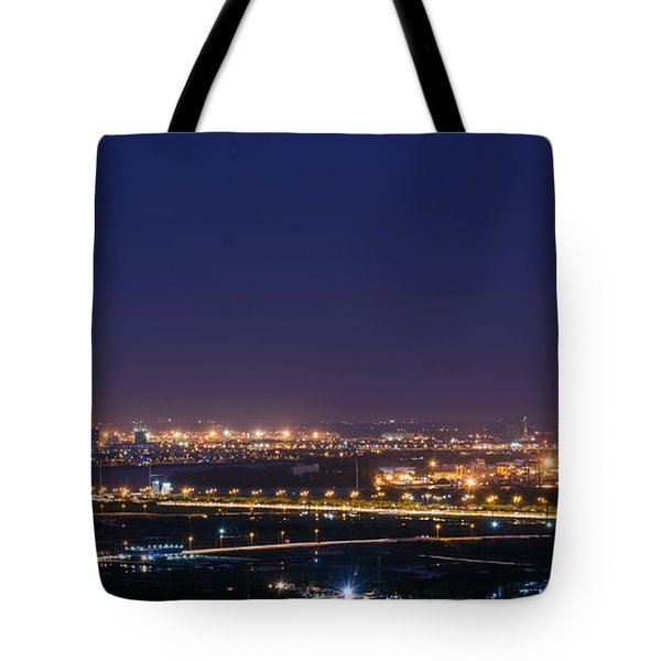 Industrial City Tote Bag