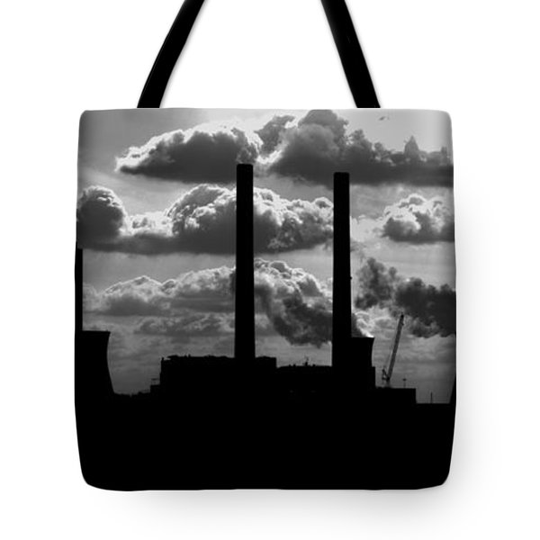 Industrial Night Tote Bag