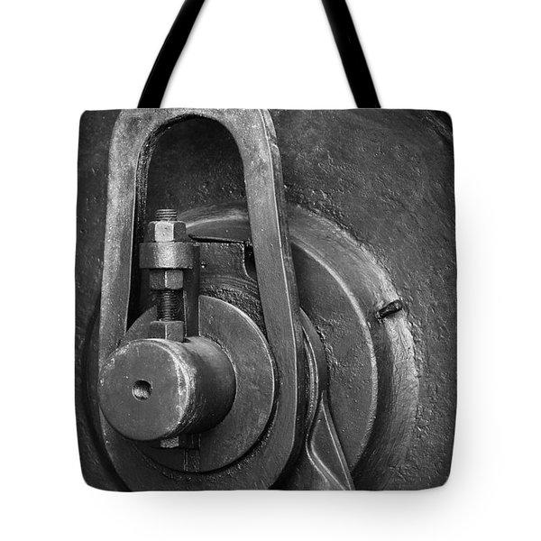 Industrial Detail Tote Bag by Carlos Caetano