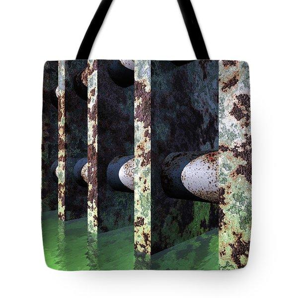 Industrial Disease Tote Bag by Richard Rizzo