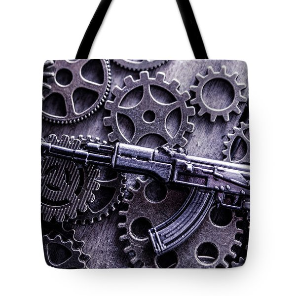 Industrial Firearms  Tote Bag