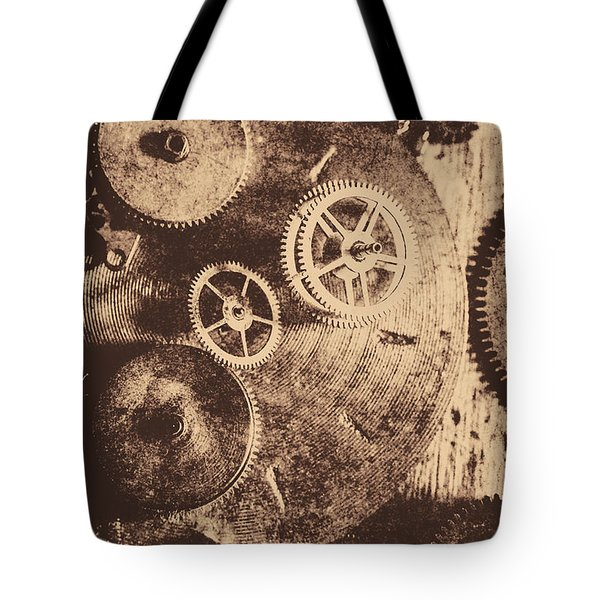 Industrial Gears Tote Bag