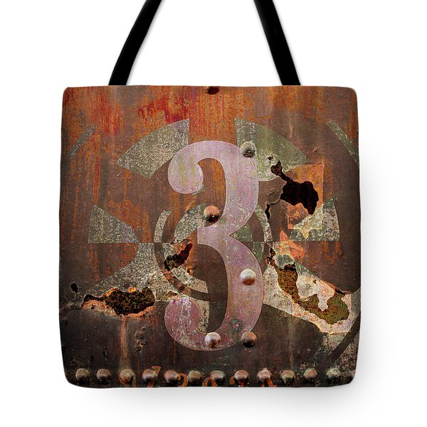 Tote Bag featuring the photograph Industrial Grunge Rust by Suzanne Powers