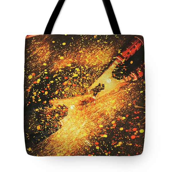 Industrial Jump Start Tote Bag