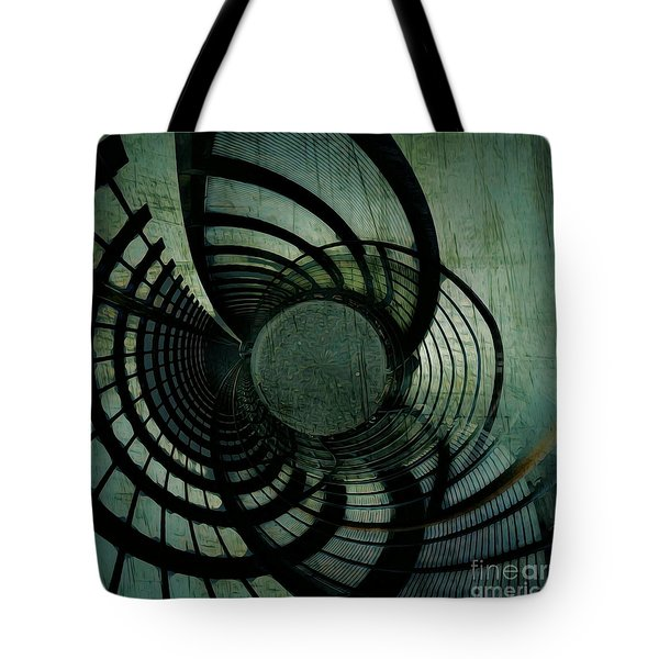 Industrial Overpass Grey Tote Bag