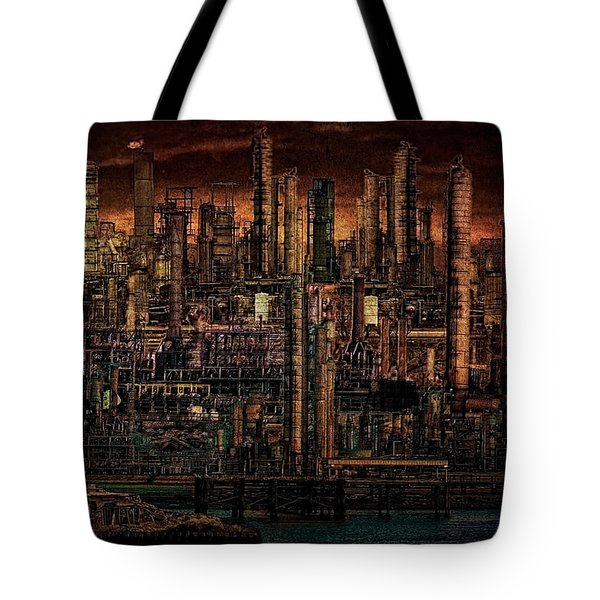 Industrial Psychosis Tote Bag