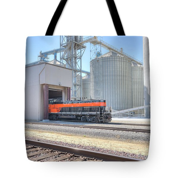 Tote Bag featuring the photograph Industrial Switcher 5405 by Jim Thompson