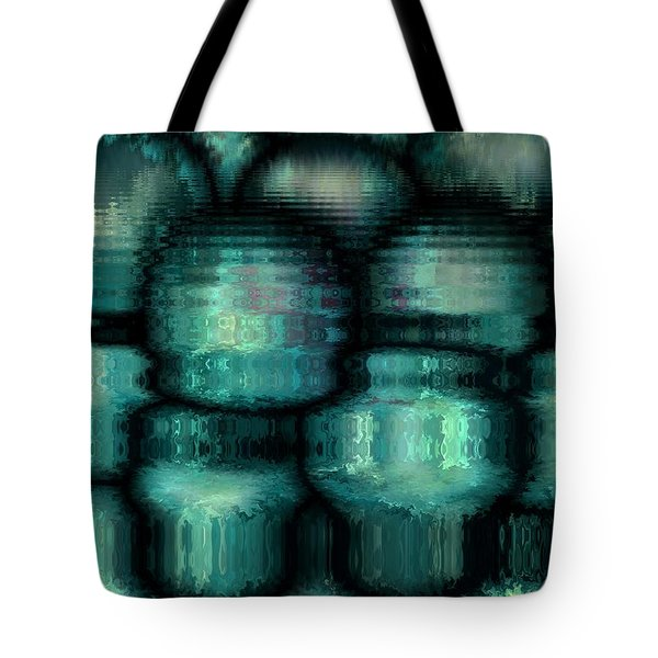 Industrial View Tote Bag by Rafi Talby