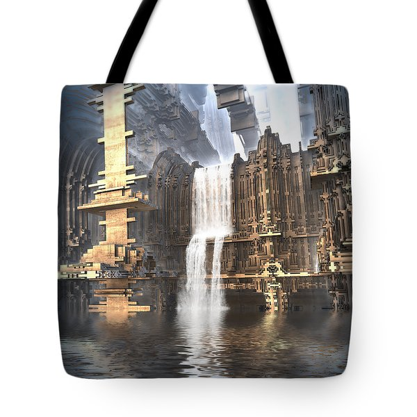 Industrial Waterworks Tote Bag