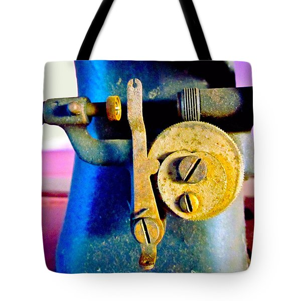 Industry In Color Tote Bag by Gwyn Newcombe