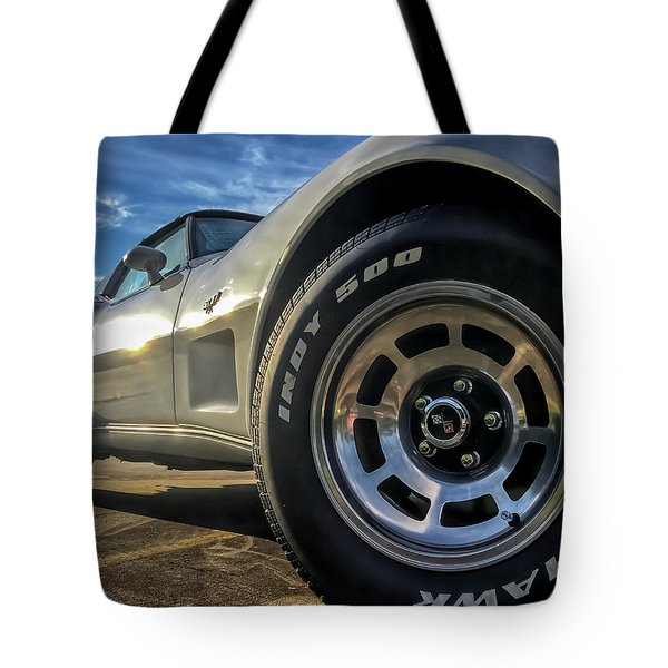Indy 500 Color Tote Bag