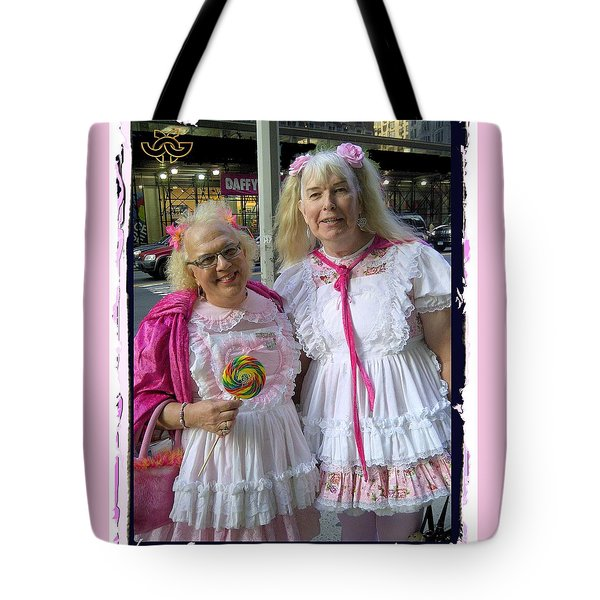 Inexplicable Smile From Ny City Tote Bag