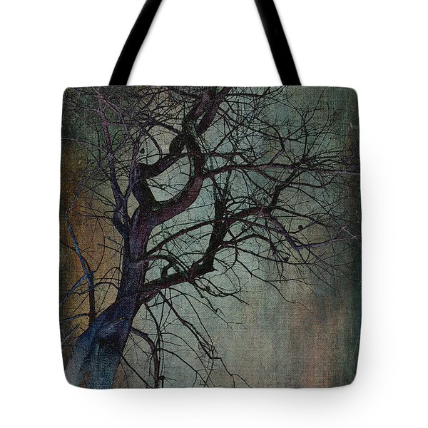 Infared Tree Art Twisted Branches Tote Bag