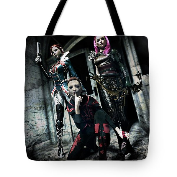 Infiltration Tote Bag