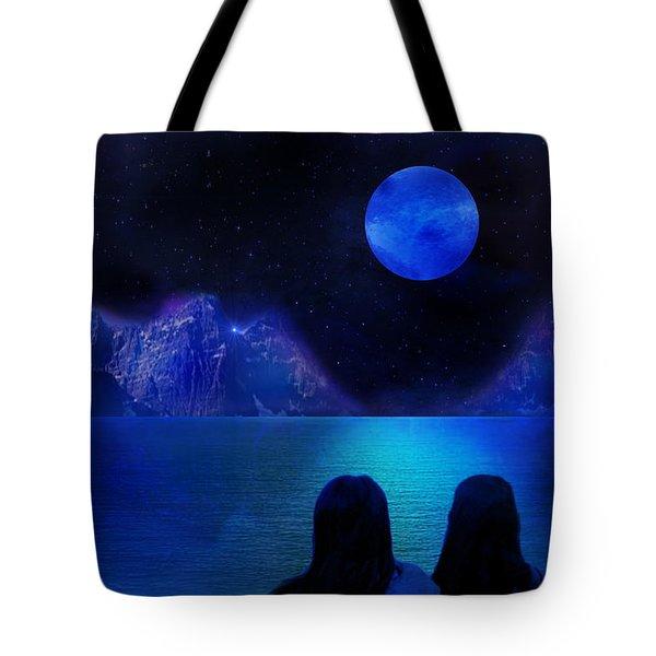 Tote Bag featuring the photograph Infinite Dreams by Bernd Hau