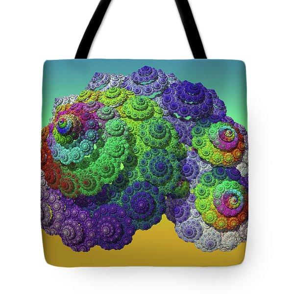 Infinite Inspiration Spiral Tote Bag