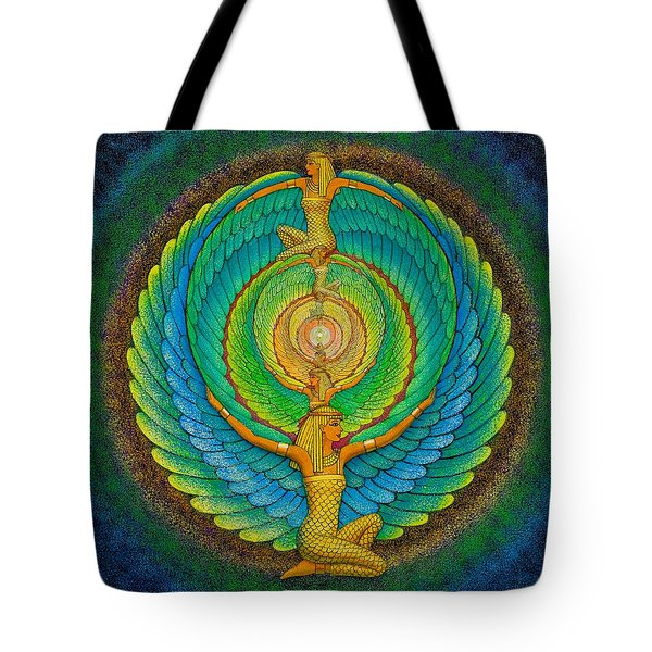 Infinite Isis Tote Bag by Sue Halstenberg