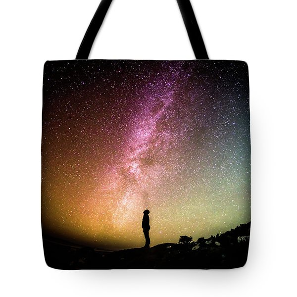 Infinite Possibilities Tote Bag by Happy Home Artistry