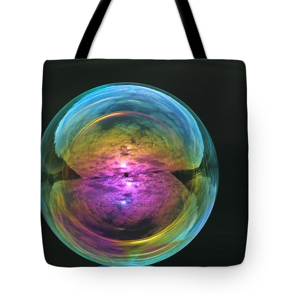 Infinite Reflections Tote Bag by Cathie Douglas
